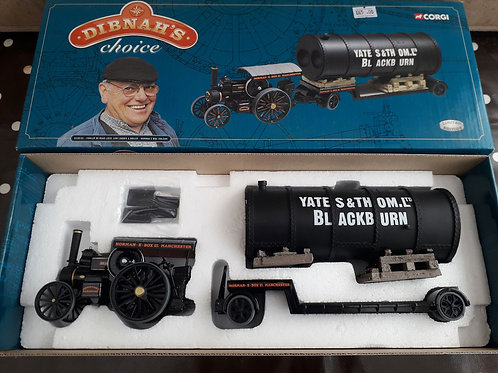 Corgi Vintage Glory CC20101 Dibnah's Choice Fowler B6 road loco + low loader