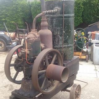1919 5hp Petter M type junior 2 stroke s