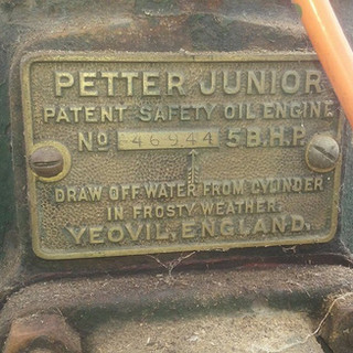 1919 5hp Petter M type junior 2 stroke s