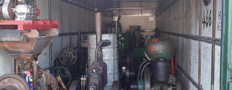 Antique engines bought for cash
