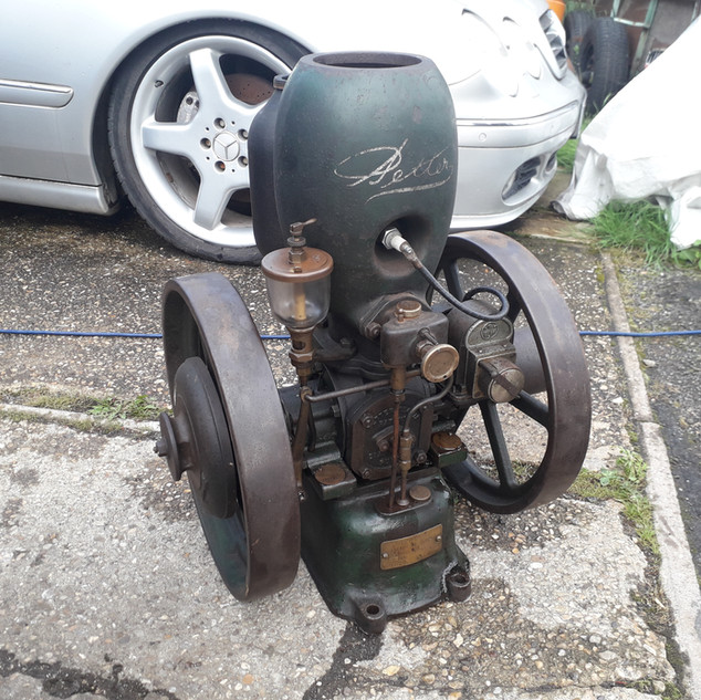 Petter M type 2 stroke stationary engine