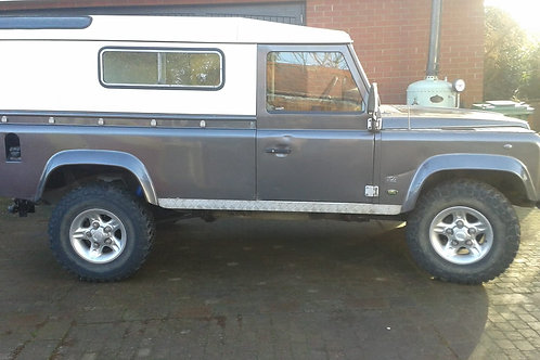 1993 LAND ROVER DEFENDER 110, GALVANISED CHASSIS