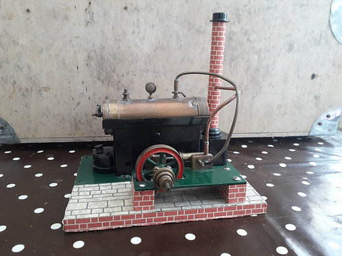 Early Scratchbuilt Live Steam Horizontal Stationary Engine