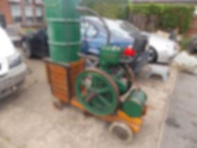 Lister J type petrol stationary engine