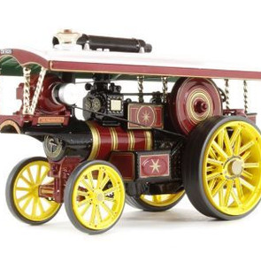 Rusty Relics 1-50 scale Corgi Vintage Glory Burrell Showmans Die Cast model engine