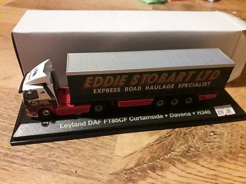 Eddie Stobart Oxford Diecast STOB024 Leyland DAF FT85CF curtainside 'Davena'