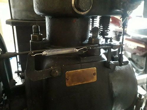 Lister A/B type Junior stationary engine throttle return spring