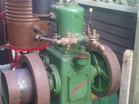 Amanco V1 stationary engine