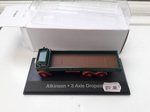 Eddie Stobart Oxford Diecast STOB007 Atkinson 3 axle dropside