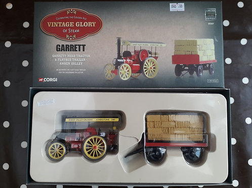 Corgi Vintage Glory 80308 Garrett road tractor + trailer 'Anker Valley'