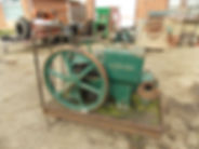 Rusty Relics Ruston Hornsby BPR open crank stationary engine