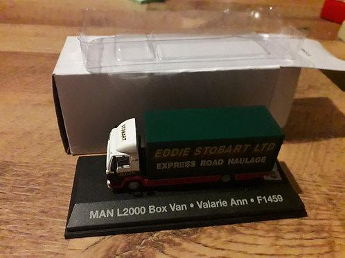 Eddie Stobart Oxford Diecast STOB018 MAN L2000 box van 'Valarie Ann'