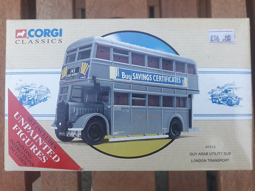 Corgi 97315 London Transport Guy Arub utility bus