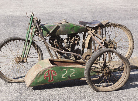 Rare 'barn find' Harley-Davidson brings Australian auction record $600,000