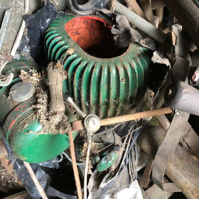 Wolseley WD8 stationary engine
