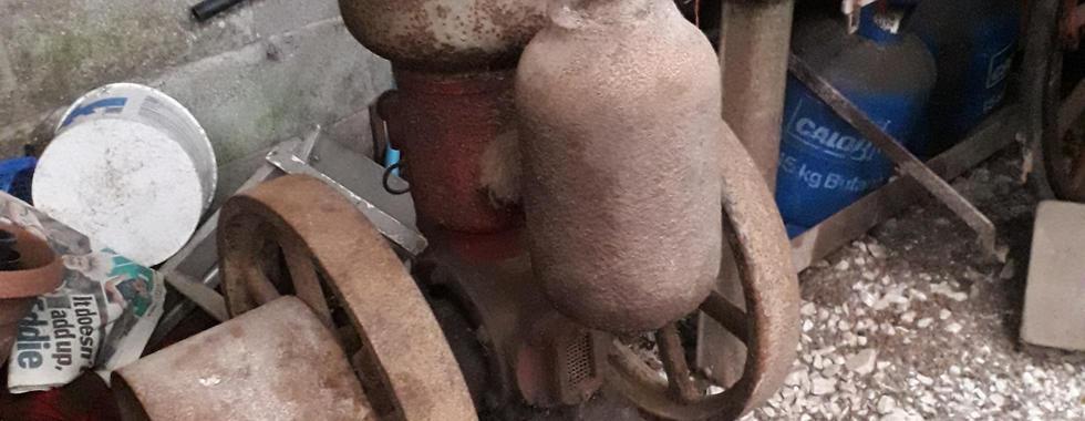 old vintage Petter oil engine barn finds CASH PAID