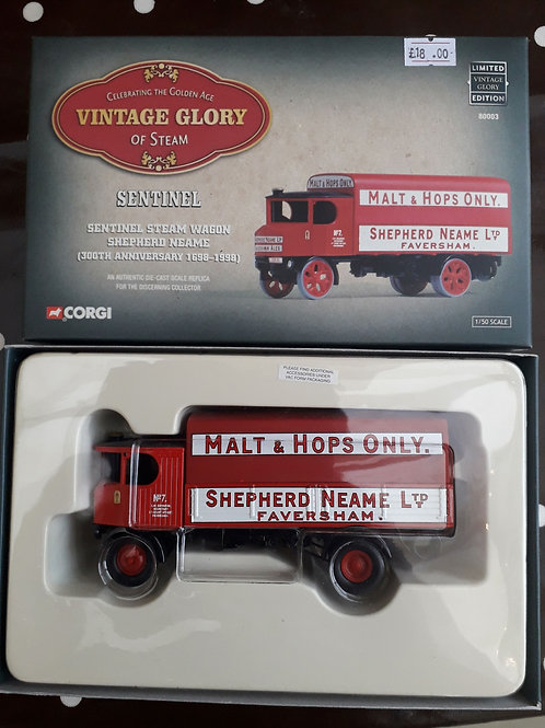 Corgi Vintage Glory 80003 Sentinel Steam Wagon 'Shepherd Neame'