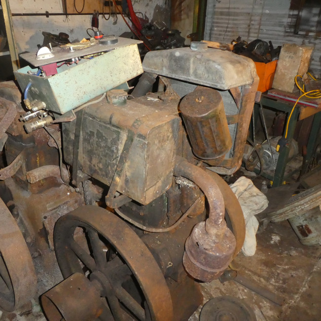A pair of Lister CS diesel engines found