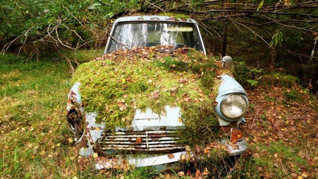 MAN FINDS LOST CAR STILL WHERE HE PARKED IT, 40 YEARS EARLIER!!!