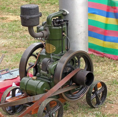 Blackstone 2HP vertical petrol stationary engine