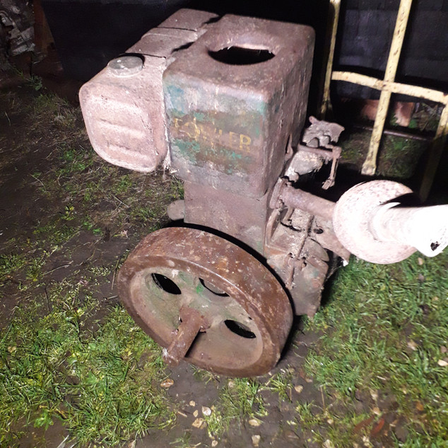 Rusty Relics Fowler PA petrol stationary engine