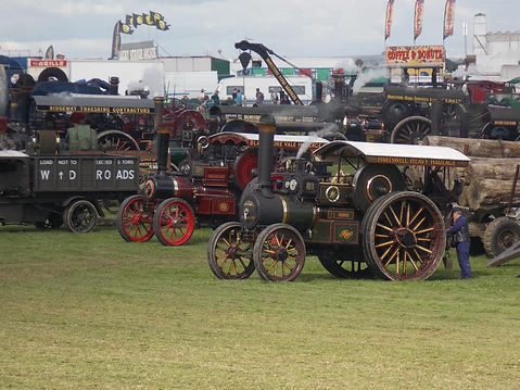 Rusty Relics Traction Engine Haulage Great Dorset Steam Fair