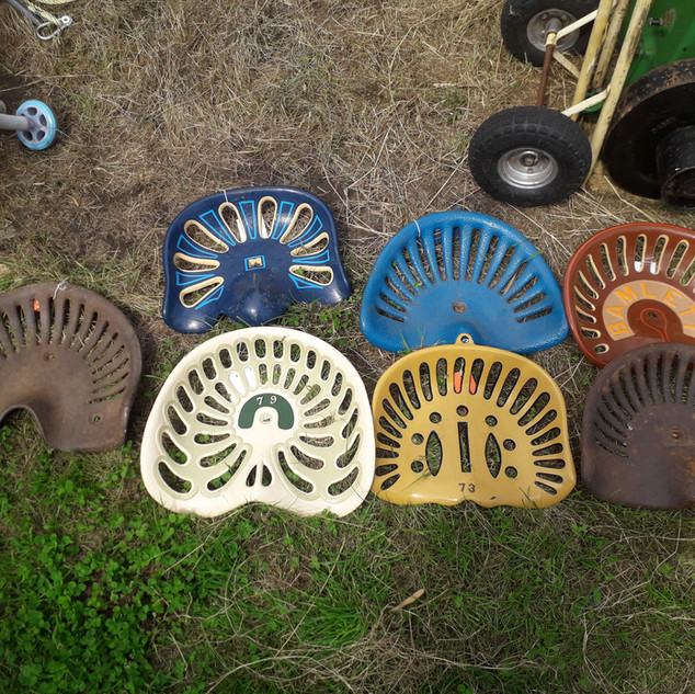 Rusty Relics Antique Cast Iron Implement