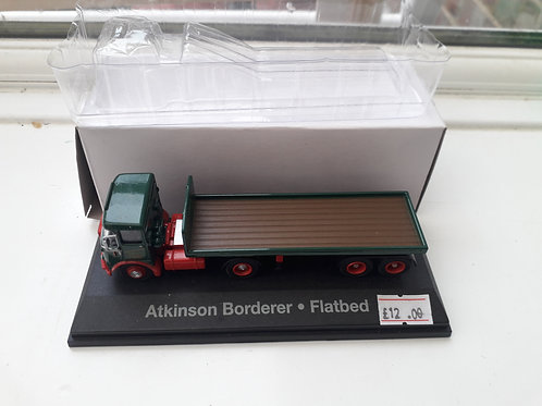 Eddie Stobart Oxford Diecast STOB003 Atkinson Borderer flatbed