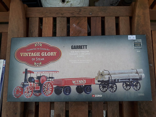 Corgi Vintage Glory 80305 Wynns Garret 4CD road tractor + trailers + log load