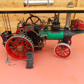 """Rusty Relics 1"""" inch scale """"minnie"""" showmans engine """""""