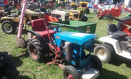 Rusty Relics Gutbrod garden tractor vintage horticultural machinery