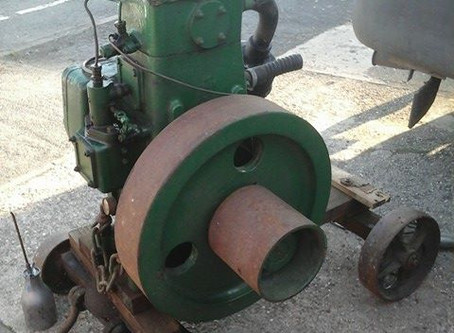 Bradford 1A vertical water cooled 4 stroke diesel engine