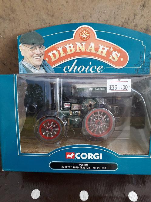 Corgi Vintage Glory 80309 Dibnah's Choice Garrett road tractor 'Mr Potter'