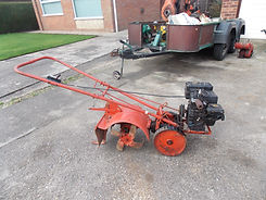 Rusty Relics Howard garden tractor rotovator vintage horticultural machinery
