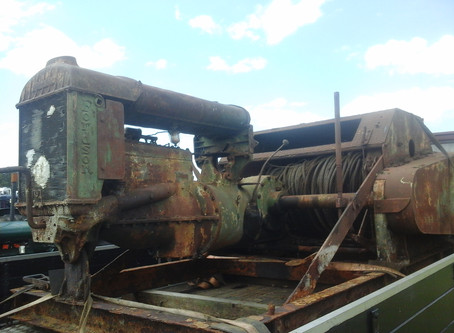 Fordson N powered Automower winch unit
