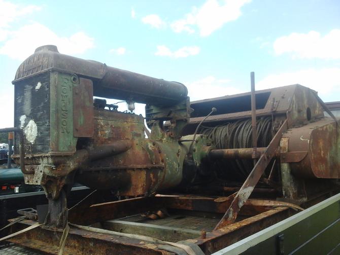 Fordson N powered Automower winch unit