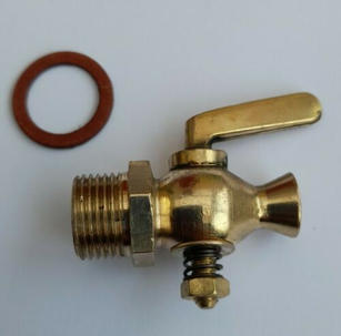 stationary engine water cylinder drain t