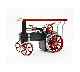 Rusty Relics vintage Mamod live steam TEA1 traction engine