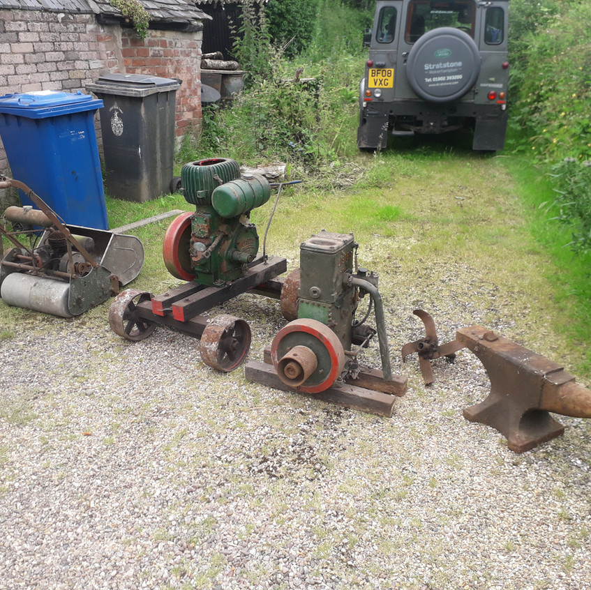 some of the stationary engines