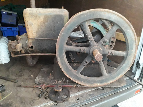 FAIRBANKS MORSE 6HP Z TYPE OPEN CRANK ENGINE PROJECT