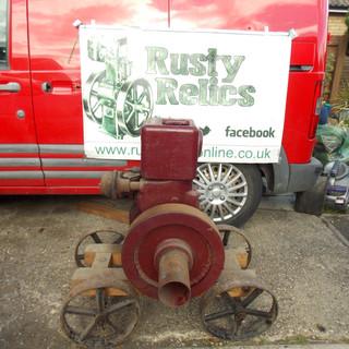 Ruston Hornsby PT petrol stationary engi