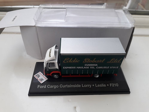 Eddie Stobart Oxford Diecast STOB016 Ford Cargo curtainside lorry 'Leslie'