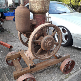 1926 5hp Petter M type Handyman oil engi