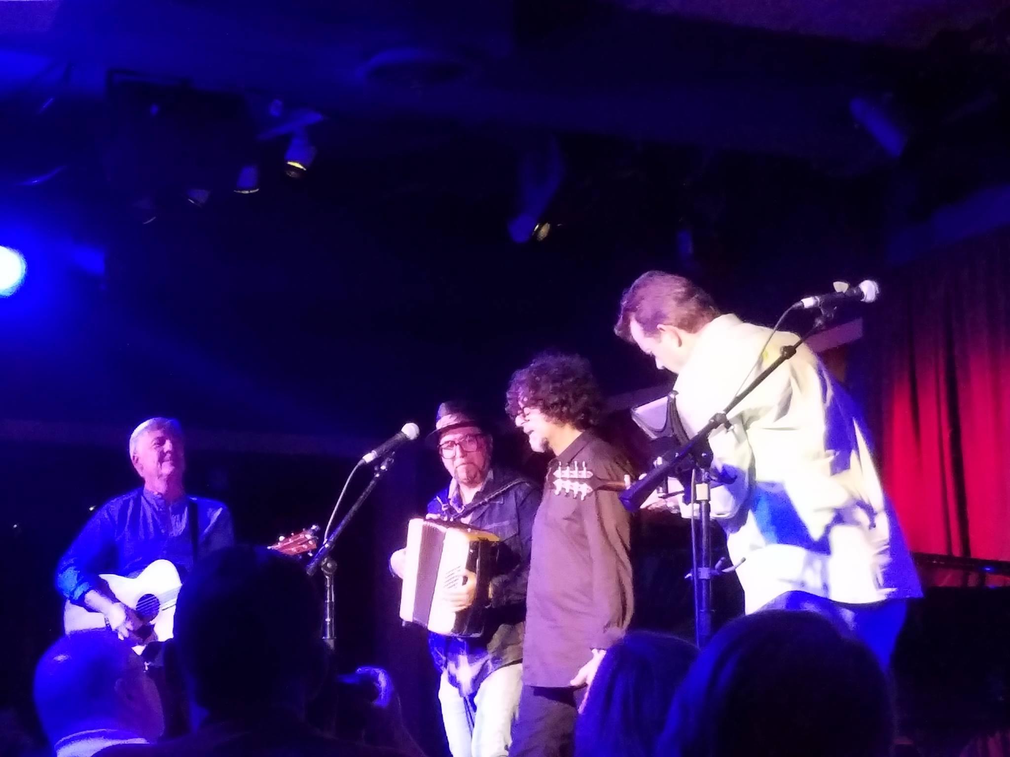 Bob, Phil Parlapiano, Dan Navarro & David Glaser