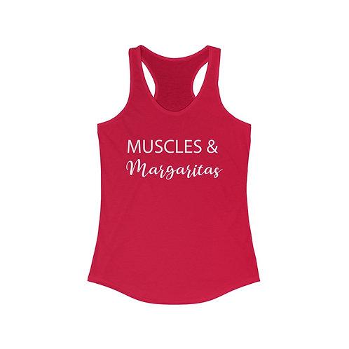 Muscles & Margaritas Racerback Tank