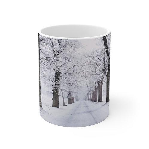 Snowy Trees Mug