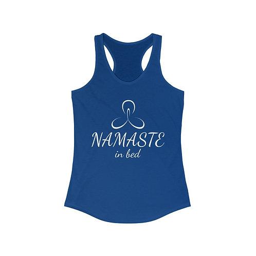 Namaste in Bed Racerback Tank