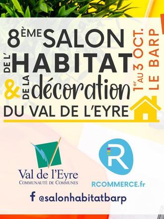 Salon de l'Habitat et de la Décoration, au Barp (33)