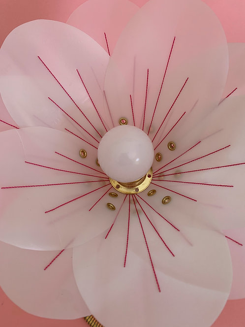 Pink Stitch Lamp