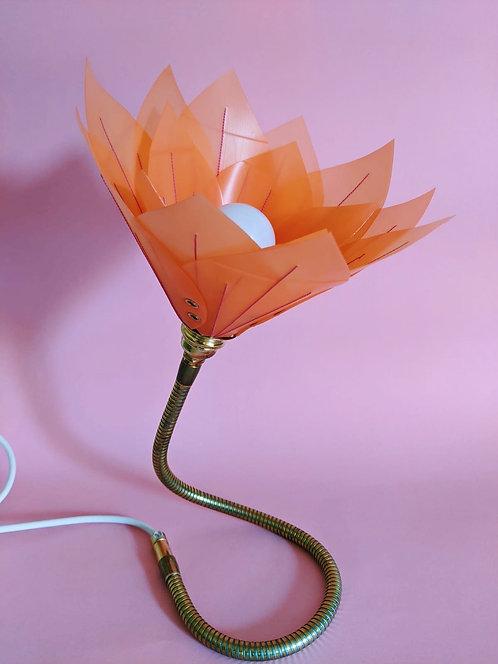 Tangerine & Magenta Stitch Lamp